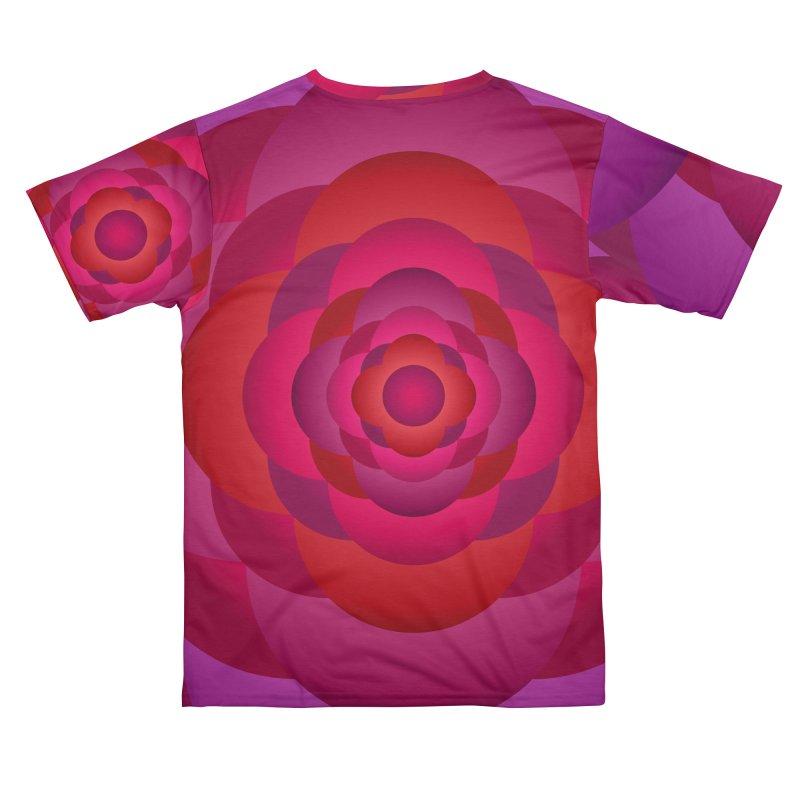 Flower Power Rose Women's Cut & Sew by virbia's Artist Shop