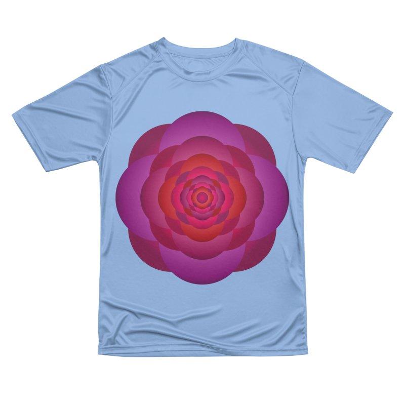 Flower Power Rose Men's T-Shirt by virbia's Artist Shop
