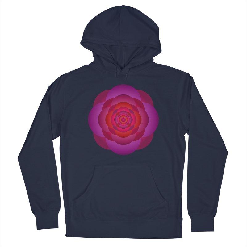 Flower Power Rose Men's Pullover Hoody by virbia's Artist Shop