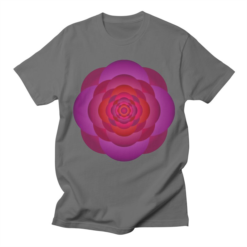 Flower Power Rose Men's T-Shirt by virbia's Artist Shop