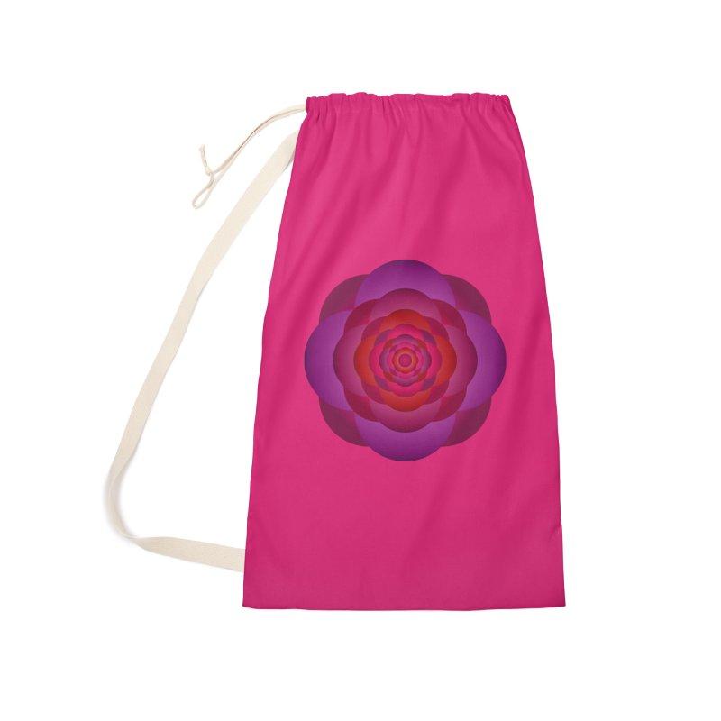 Flower Power Rose Accessories Bag by virbia's Artist Shop