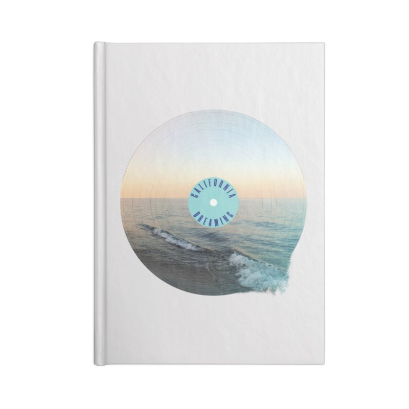 California Dreaming Accessories Notebook by virbia's Artist Shop