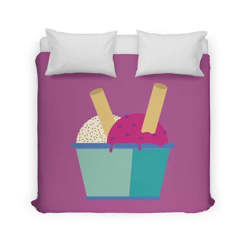 Ice cream Sweet 11 Home Duvet by virbia's Artist Shop