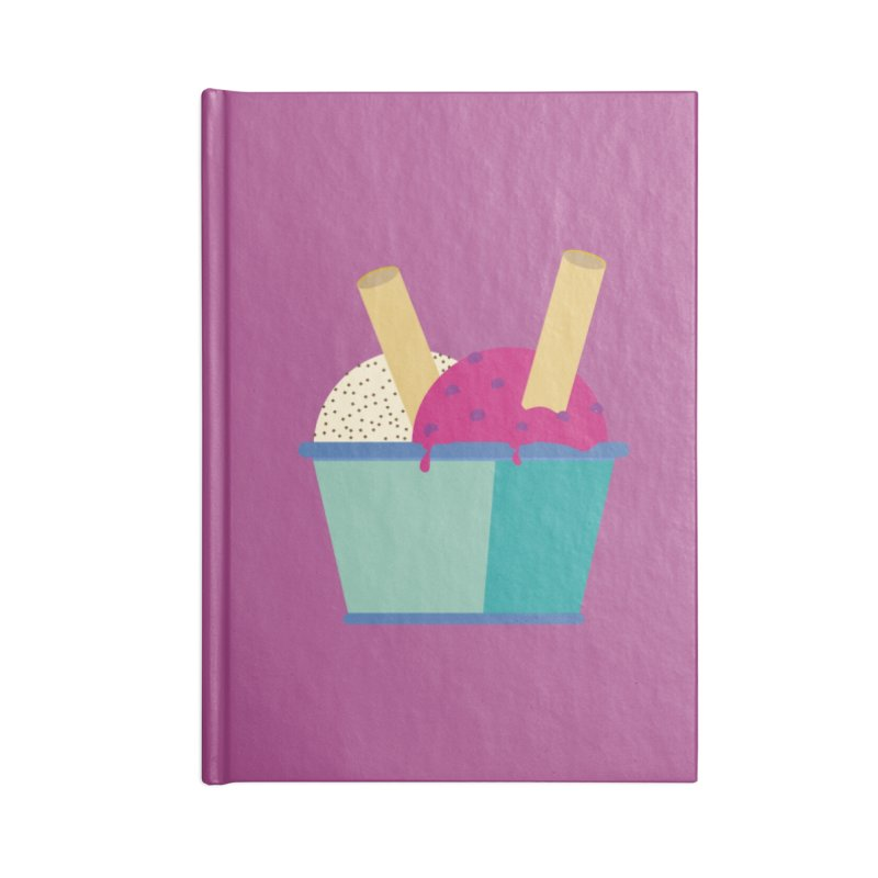 Ice cream Sweet 11 Accessories Notebook by virbia's Artist Shop