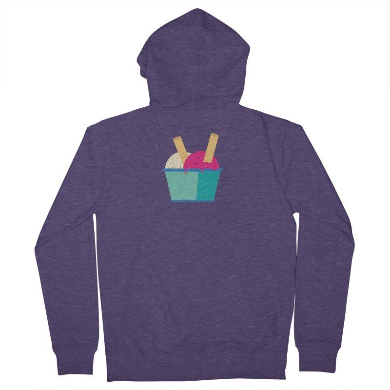Ice cream Sweet 11 Men's Zip-Up Hoody by virbia's Artist Shop