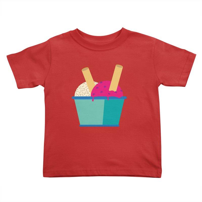 Ice cream Sweet 11 Kids Toddler T-Shirt by virbia's Artist Shop