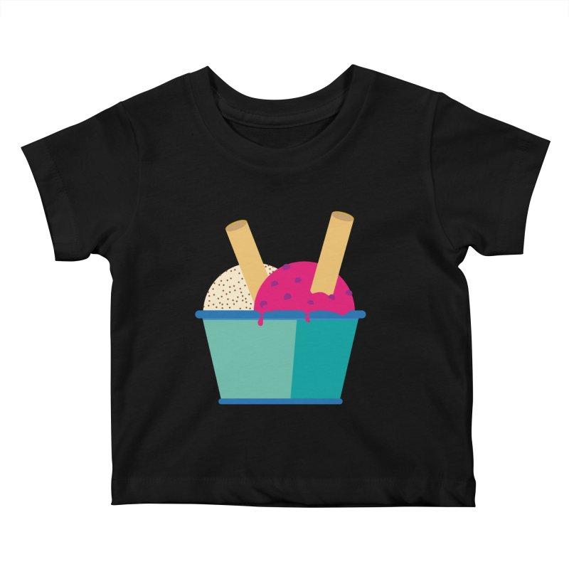 Ice cream Sweet 11 Kids Baby T-Shirt by virbia's Artist Shop
