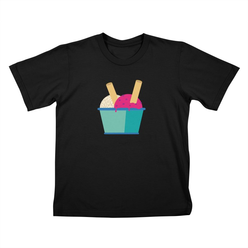 Ice cream Sweet 11 Kids T-Shirt by virbia's Artist Shop