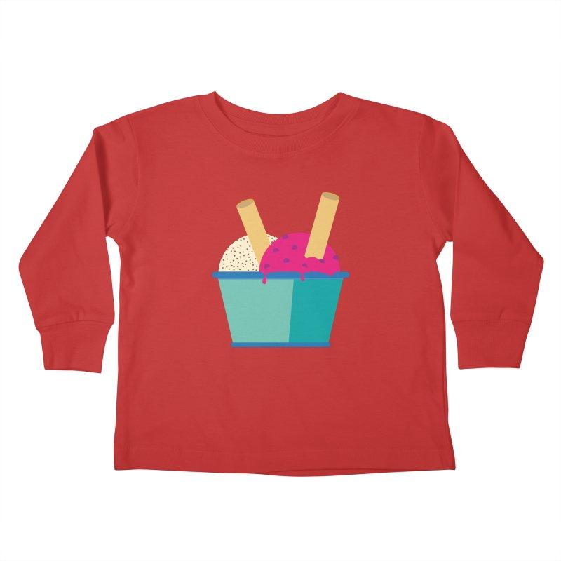 Ice cream Sweet 11 Kids Toddler Longsleeve T-Shirt by virbia's Artist Shop