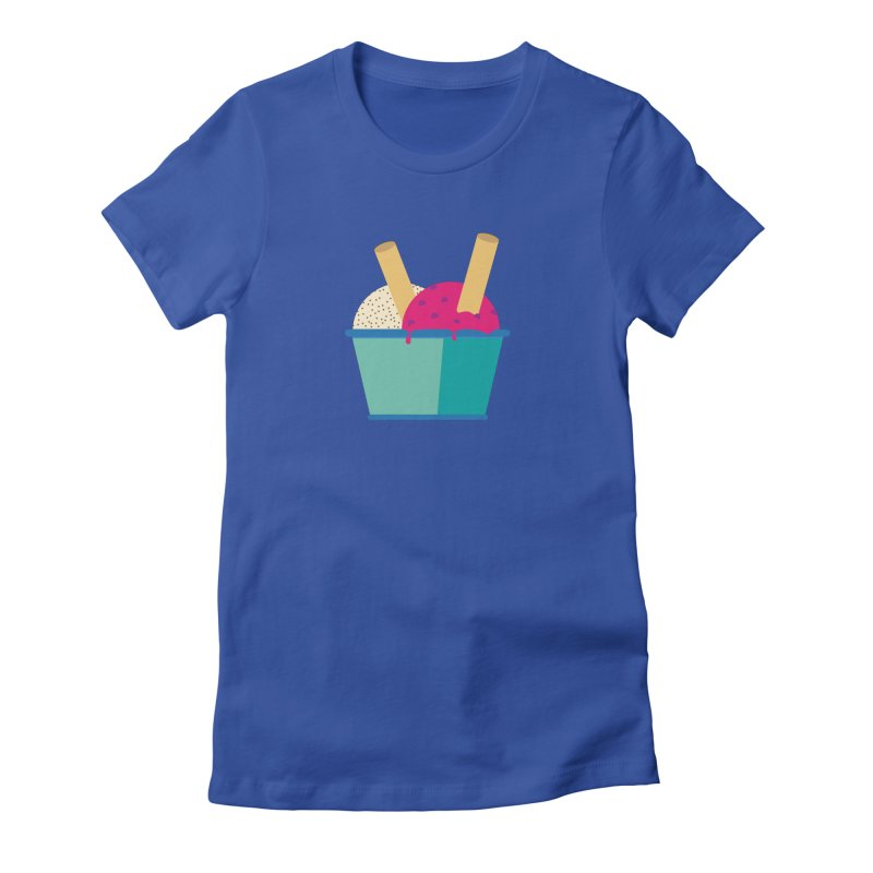 Ice cream Sweet 11 Women's Fitted T-Shirt by virbia's Artist Shop