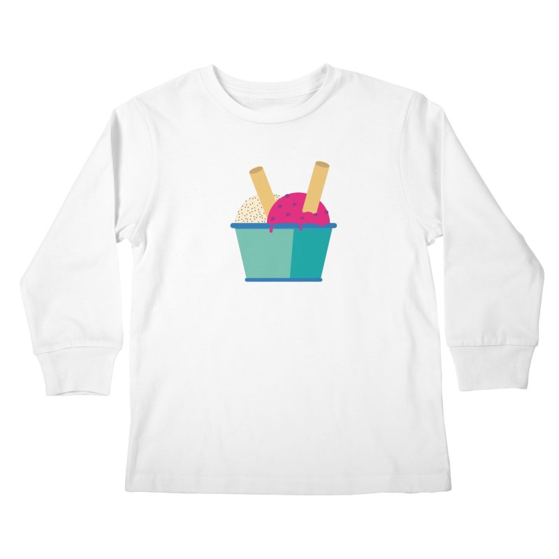 Ice cream Sweet 11 Kids Longsleeve T-Shirt by virbia's Artist Shop
