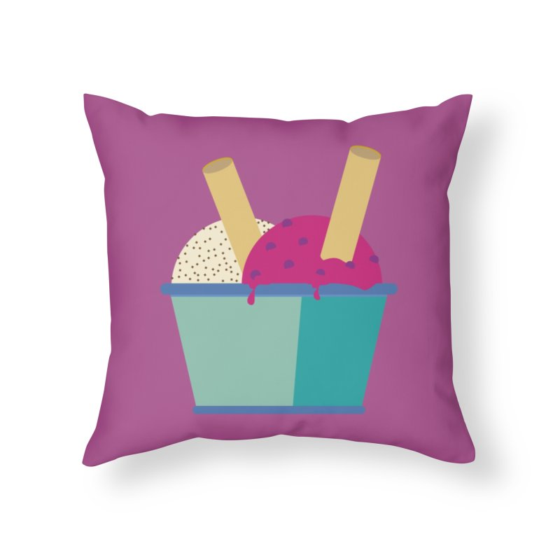 Ice cream Sweet 11 Home Throw Pillow by virbia's Artist Shop