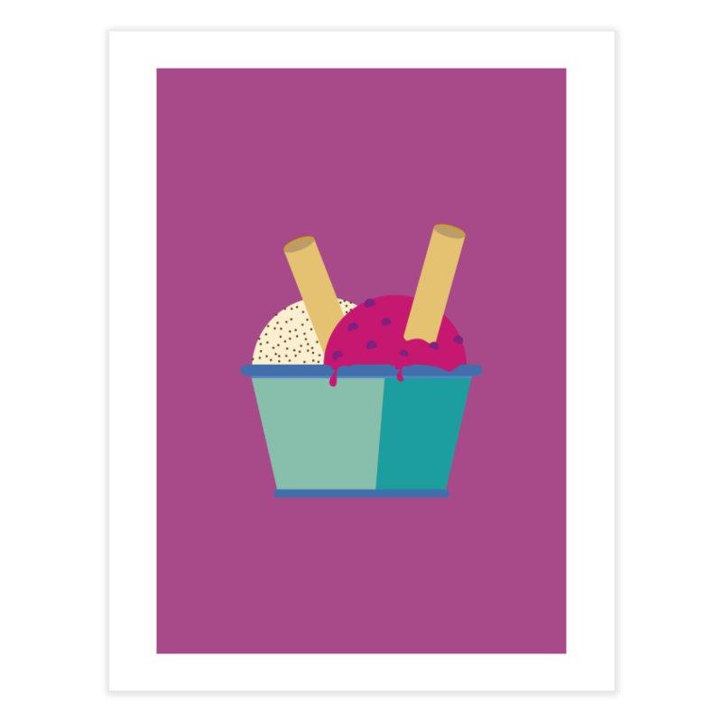 Ice cream Sweet 11 Home Fine Art Print by virbia's Artist Shop