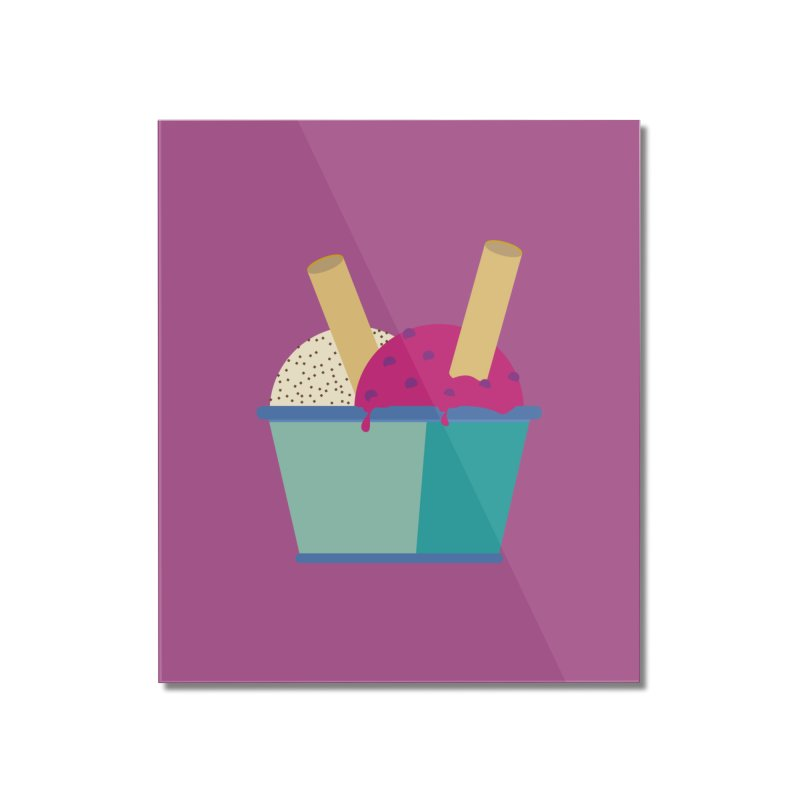 Ice cream Sweet 11 Home Mounted Acrylic Print by virbia's Artist Shop