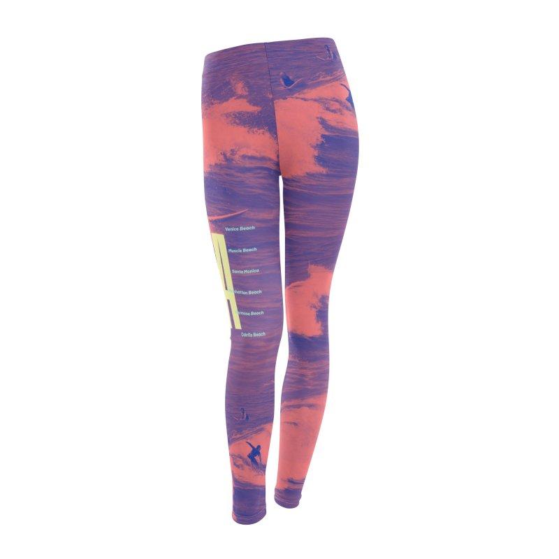 Los Angeles California Women's Leggings Bottoms by virbia's Artist Shop