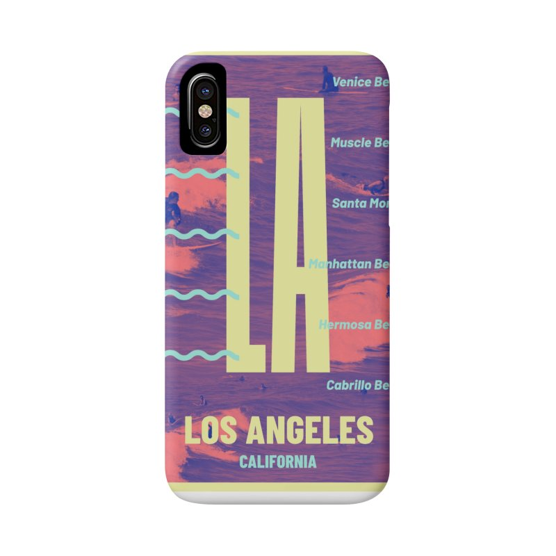 Los Angeles California Accessories Phone Case by virbia's Artist Shop