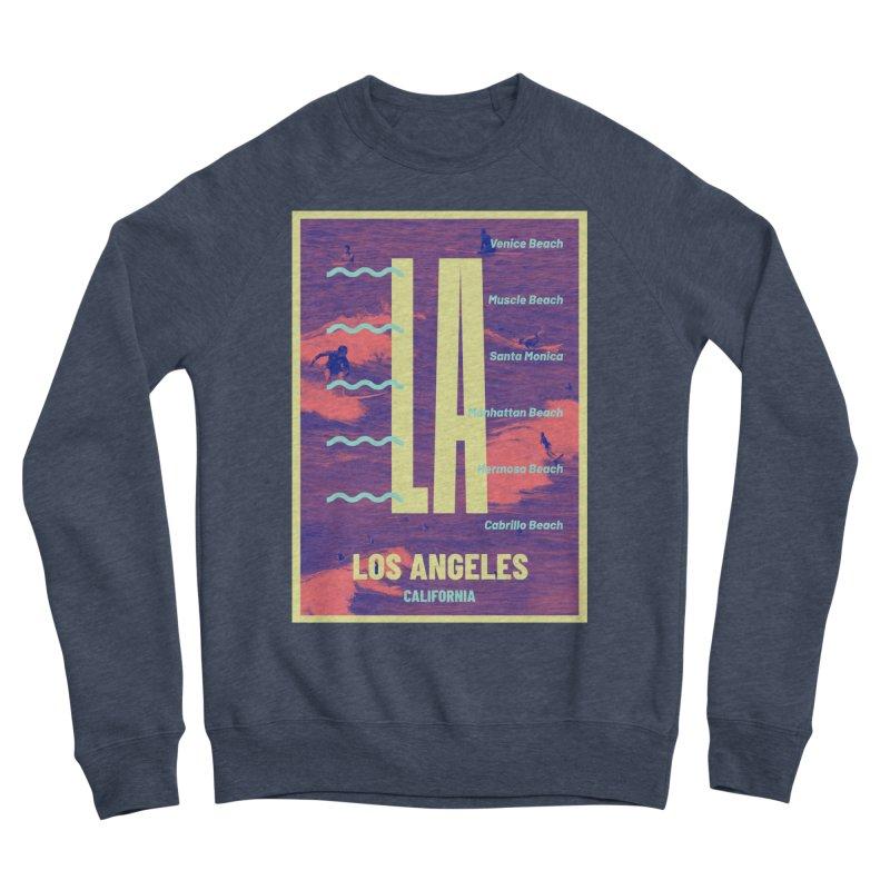Los Angeles California Women's Sponge Fleece Sweatshirt by virbia's Artist Shop
