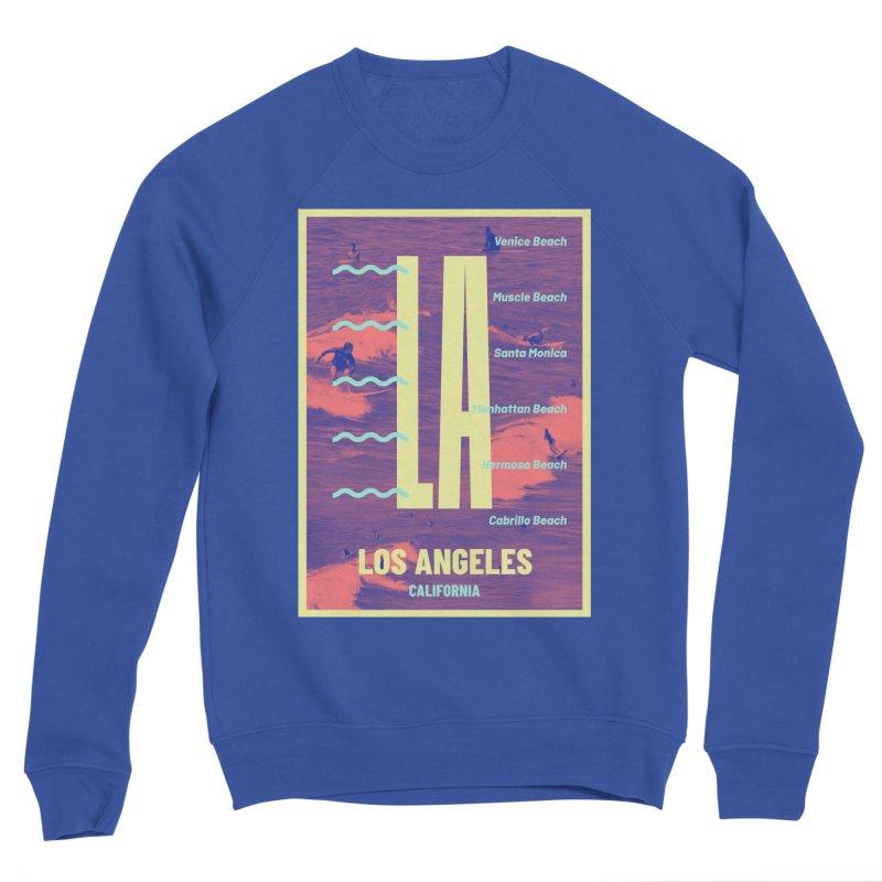 Los Angeles California Men's Sweatshirt by virbia's Artist Shop
