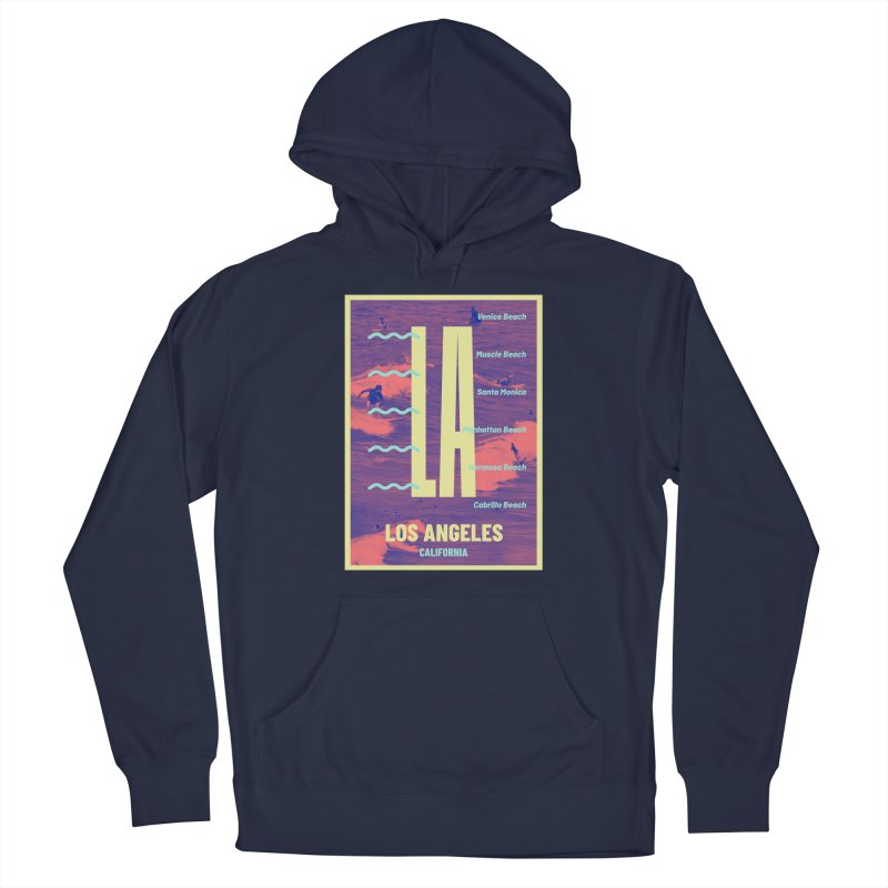 Los Angeles California Men's Pullover Hoody by virbia's Artist Shop