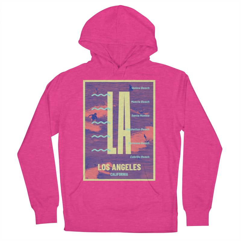 Los Angeles California Women's Pullover Hoody by virbia's Artist Shop