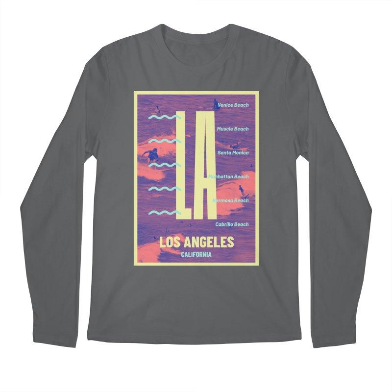 Los Angeles California Men's Longsleeve T-Shirt by virbia's Artist Shop