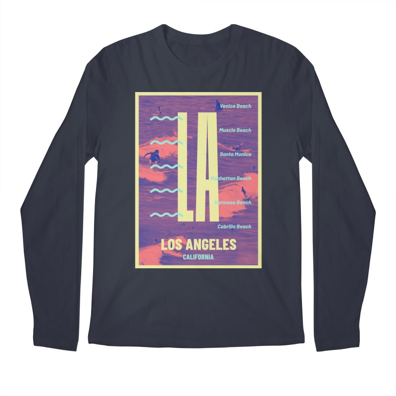 Los Angeles California Men's Longsleeve T-Shirt by virbia's Artist Shop