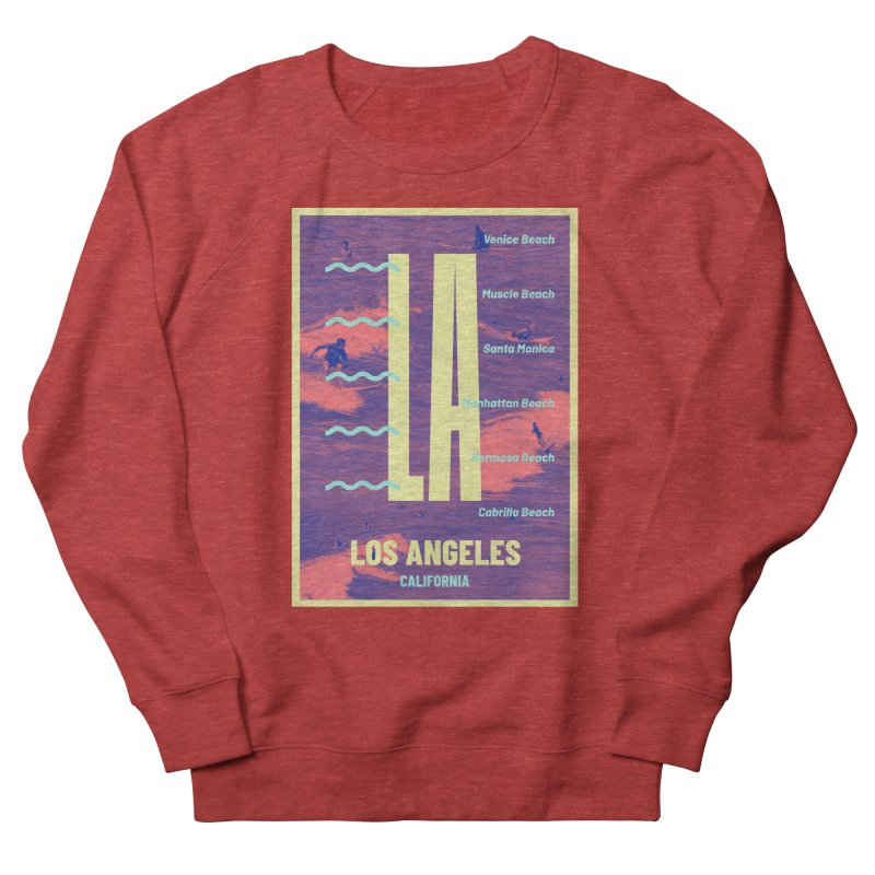 Los Angeles California Women's Sweatshirt by virbia's Artist Shop