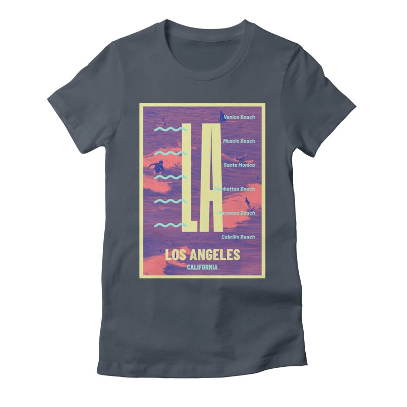 Los Angeles California Women's T-Shirt by virbia's Artist Shop