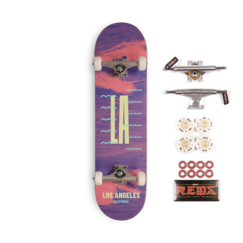 Los Angeles California Accessories Complete - Pro Skateboard by virbia's Artist Shop