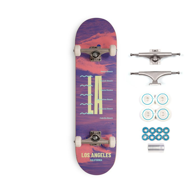 Los Angeles California Accessories Complete - Basic Skateboard by virbia's Artist Shop