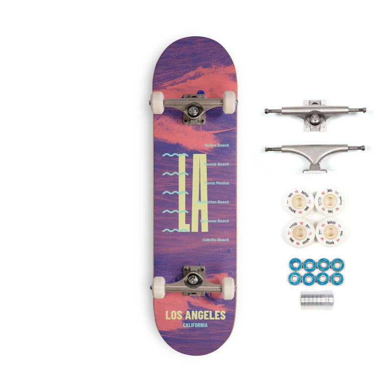 Los Angeles California Accessories Skateboard by virbia's Artist Shop