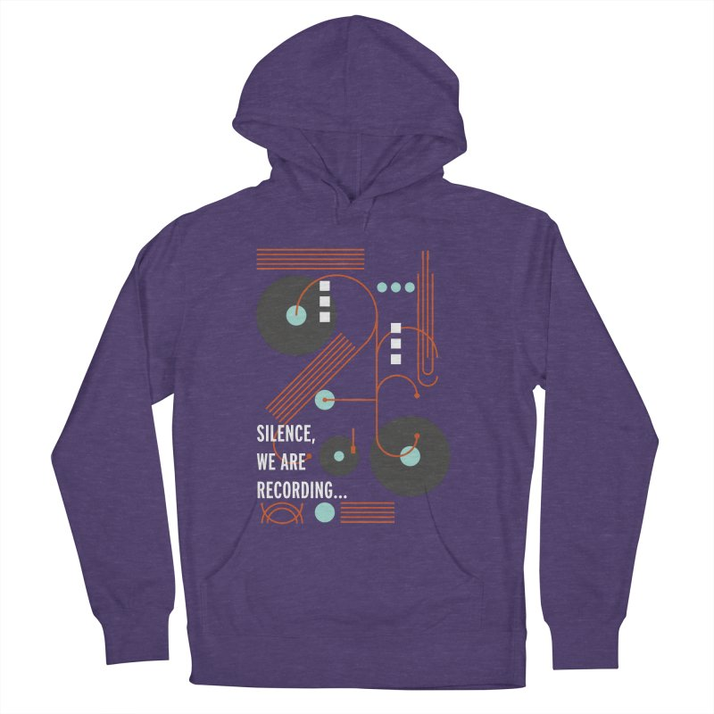 Music Vinyl Geometric Women's Pullover Hoody by virbia's Artist Shop