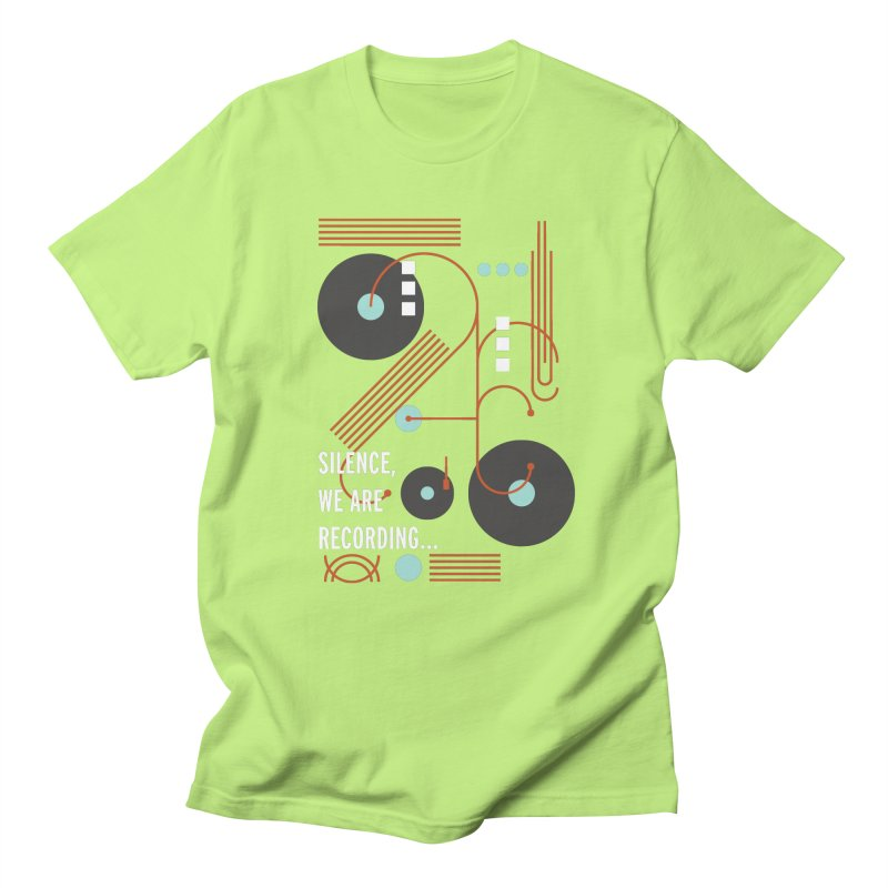 Music Vinyl Geometric Women's Unisex T-Shirt by virbia's Artist Shop