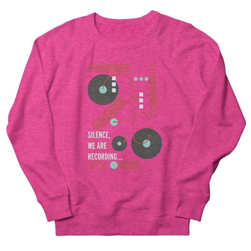 Music Vinyl Geometric Men's Sweatshirt by virbia's Artist Shop