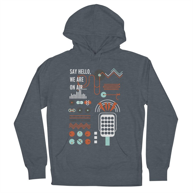 Music radio Vinyl Women's Pullover Hoody by virbia's Artist Shop