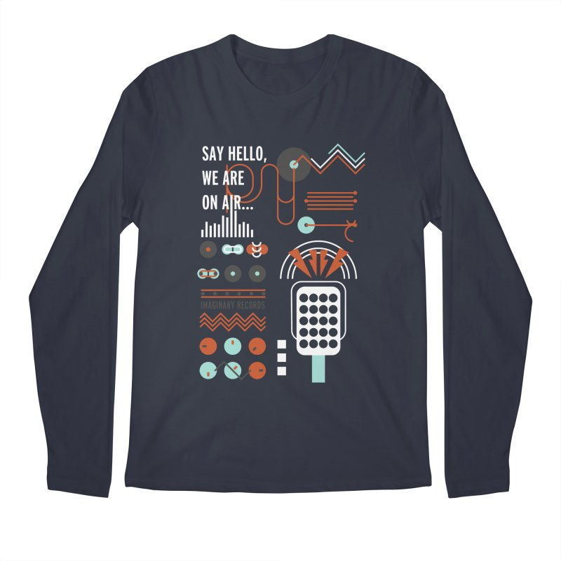 Music radio Vinyl Men's Longsleeve T-Shirt by virbia's Artist Shop