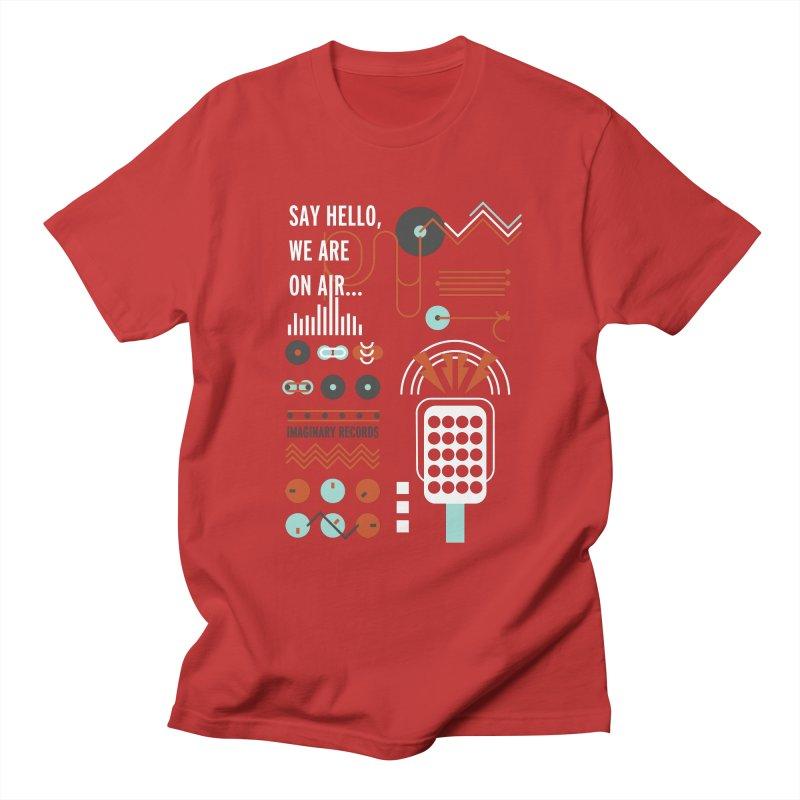 Music radio Vinyl Women's Unisex T-Shirt by virbia's Artist Shop