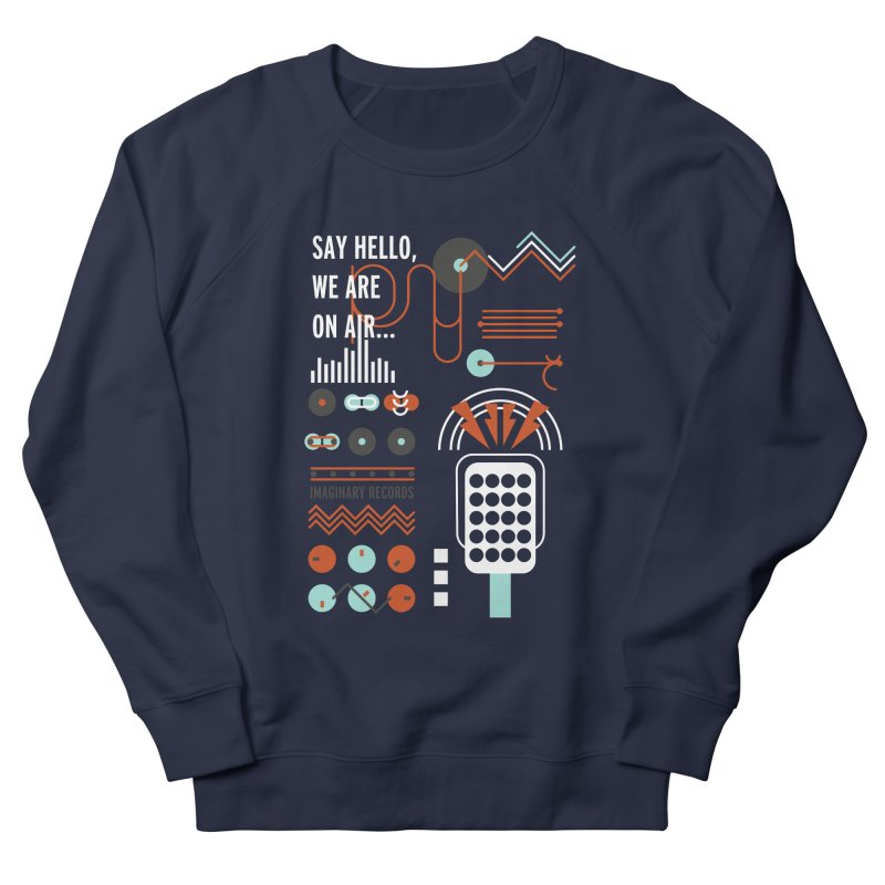 Music radio Vinyl Women's Sweatshirt by virbia's Artist Shop