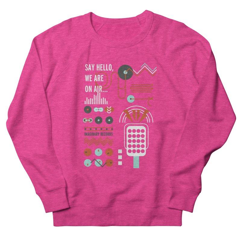 Music radio Vinyl Men's Sweatshirt by virbia's Artist Shop