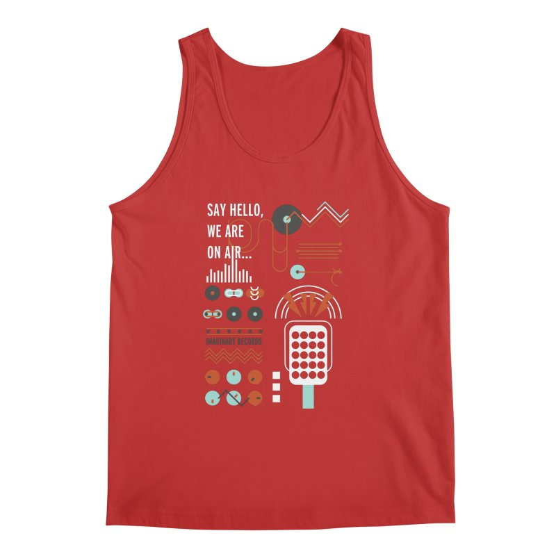 Music radio Vinyl Men's Tank by virbia's Artist Shop