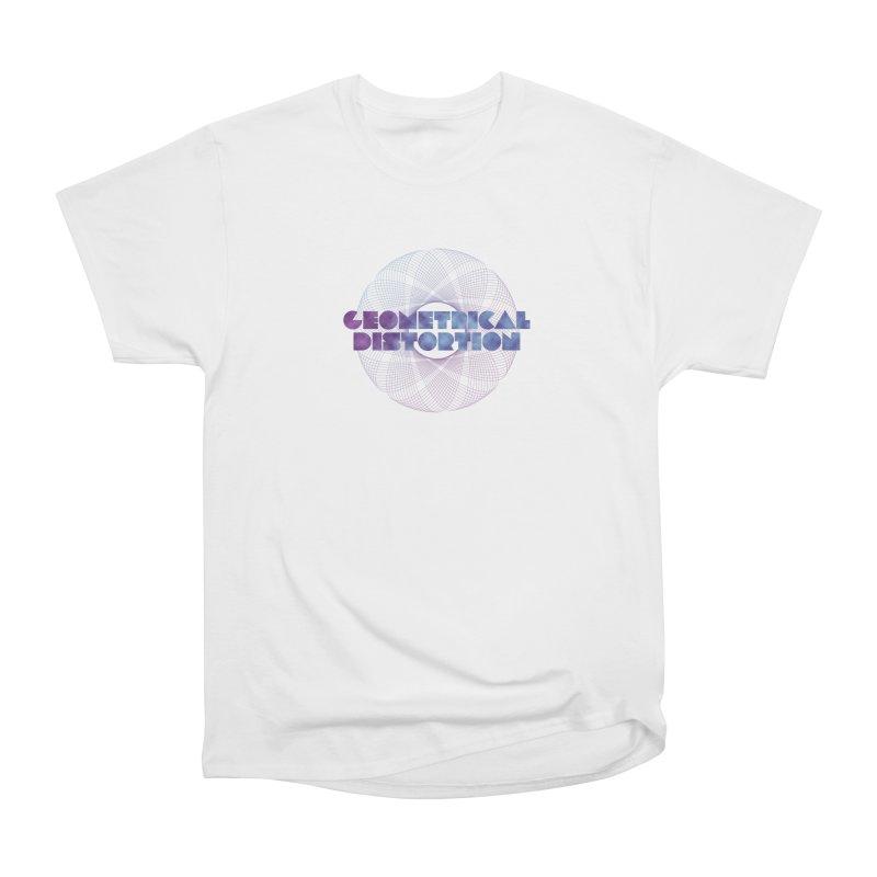 Geometrical distortion Women's Heavyweight Unisex T-Shirt by virbia's Artist Shop