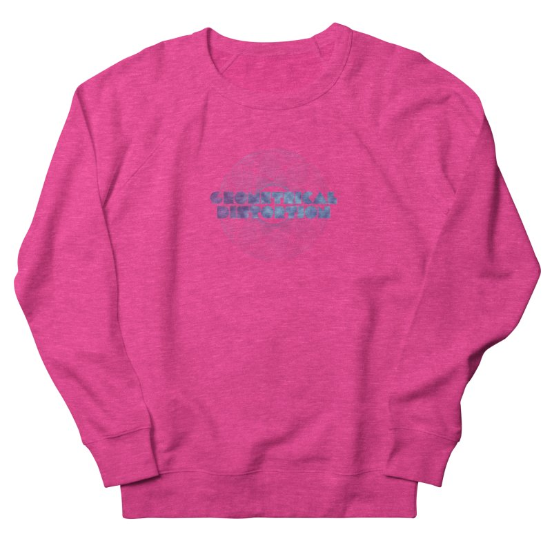 Geometrical distortion Women's Sweatshirt by virbia's Artist Shop
