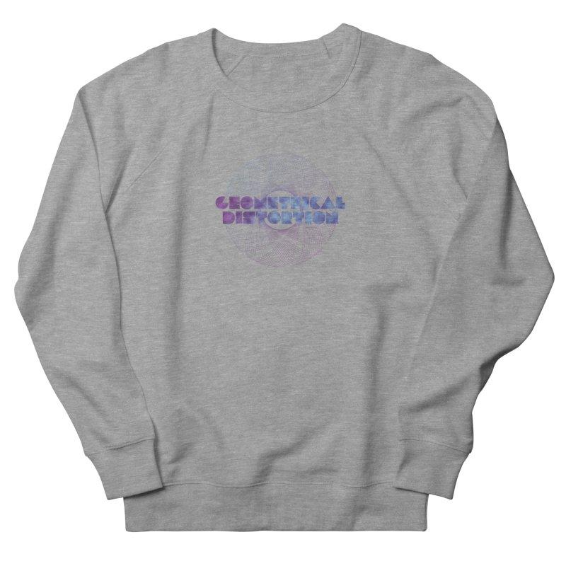 Geometrical distortion Men's Sweatshirt by virbia's Artist Shop