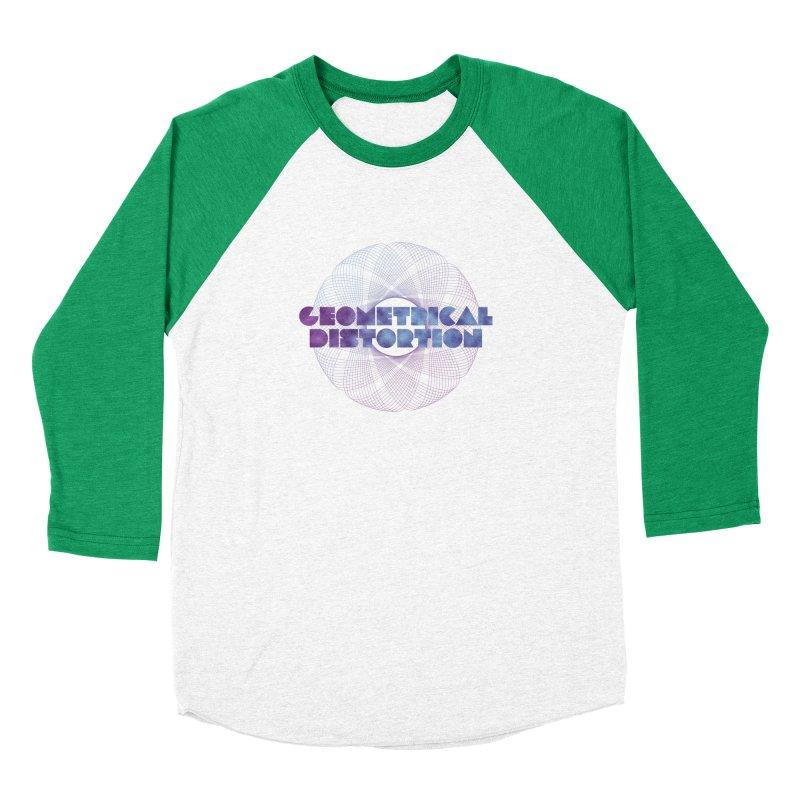 Geometrical distortion Men's Baseball Triblend T-Shirt by virbia's Artist Shop