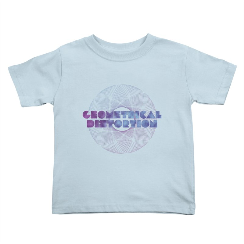 Geometrical distortion Kids Toddler T-Shirt by virbia's Artist Shop