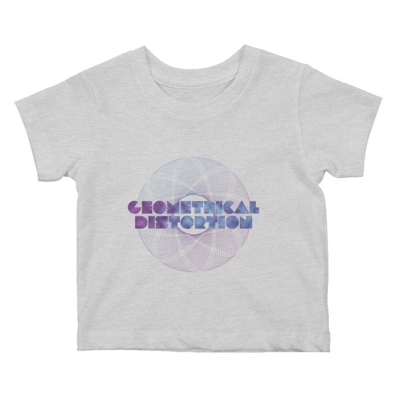 Geometrical distortion Kids Baby T-Shirt by virbia's Artist Shop