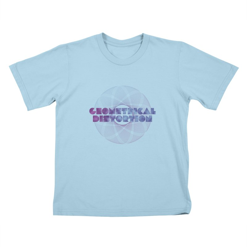 Geometrical distortion Kids T-Shirt by virbia's Artist Shop