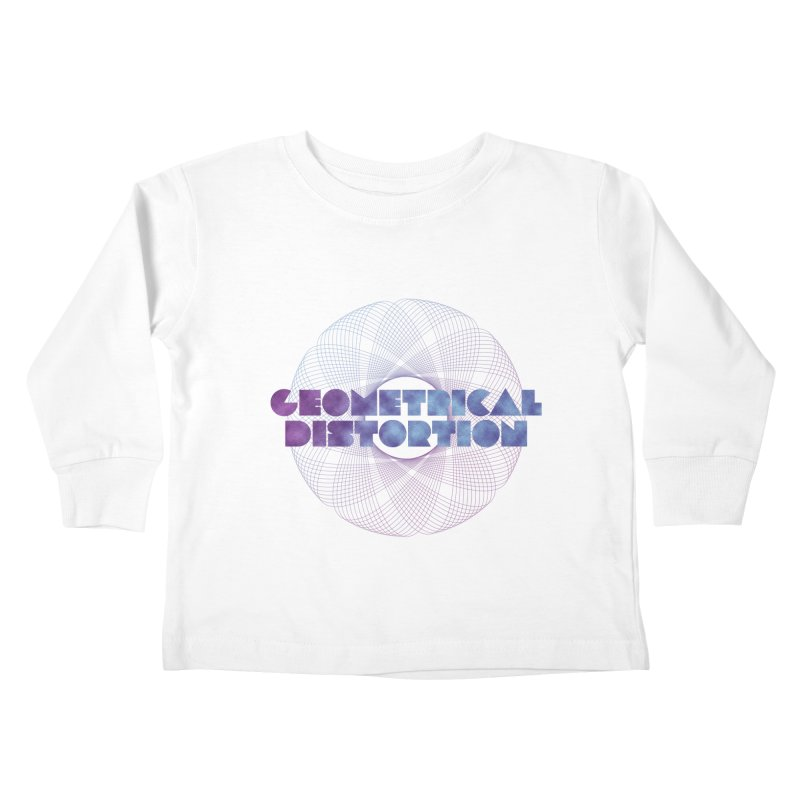 Geometrical distortion Kids Toddler Longsleeve T-Shirt by virbia's Artist Shop