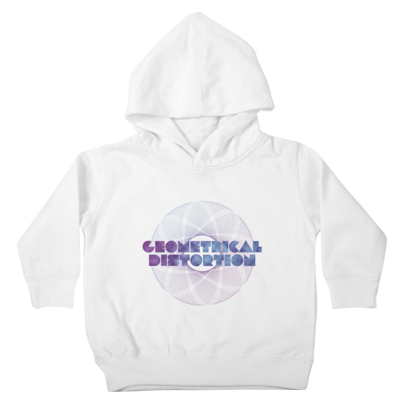 Geometrical distortion Kids Toddler Pullover Hoody by virbia's Artist Shop