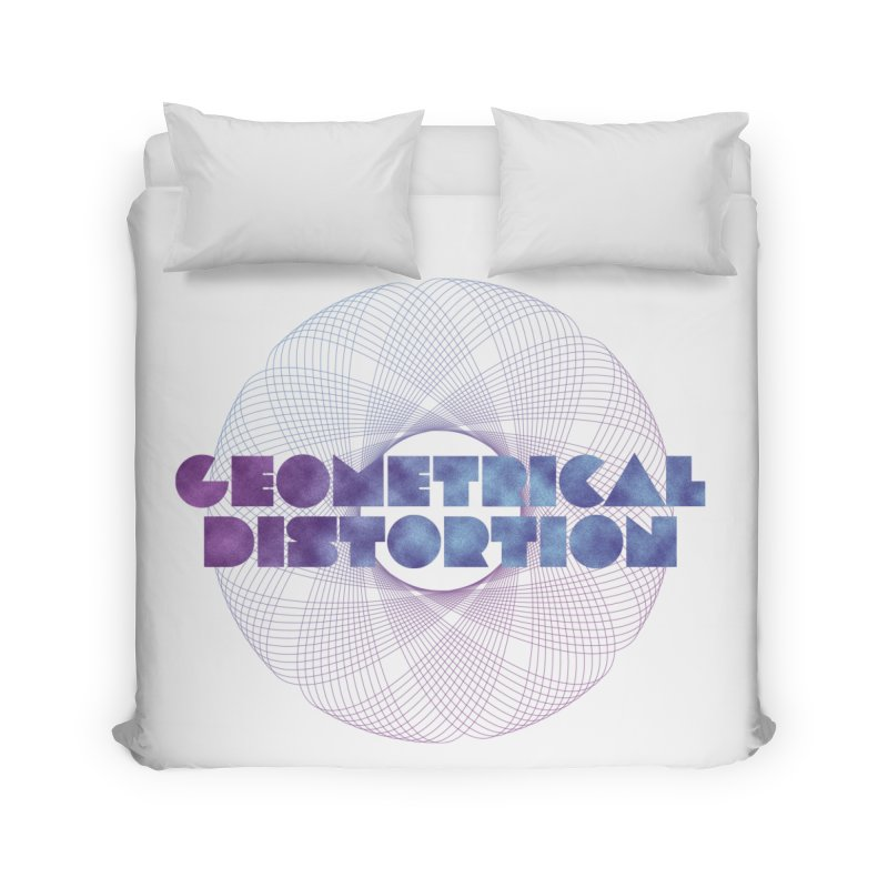 Geometrical distortion Home Duvet by virbia's Artist Shop